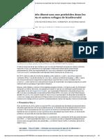 Les eurodéputés disent non aux pesticides dans les haies, bosquets et autres refuges de biodiversité