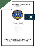 ORGANISASI PERGERAKAN BUDI UTOMO DI INDONESIA