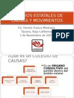COLEGIOS DE CAUSAS