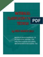 NORMALIZACION  DE MATERIALES