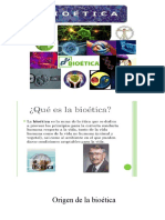 Bioetica generalidades