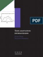 Tests adaptativos informatizados - Julio Olea.pdf