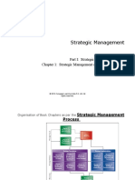 Strategy Frameworks and associated book chapters from the textbook