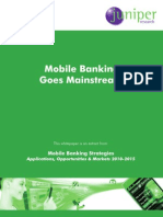 Mobile Banking Goes Mainstream