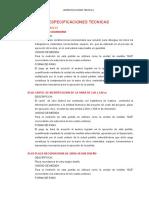 03. ESPECIFICACIONES TECNICAS