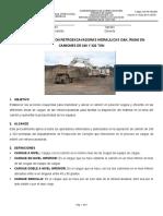 1 ES-PD-AE-004 CARGUE DE ESTERIL RETROEXCAVADORAS HIDRAULICAS