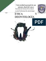 relacion entre paciente y personal odontologico