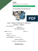 Montaje y desmontaje de Componentes Mecánicos - Impulsor - Realizado por Raúl Axel Arévalo chávez