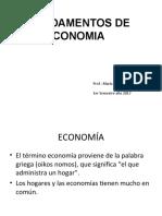 Diapositiva Fundamentos de Economía