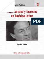 agustin cueva autoritarismo y fascismo