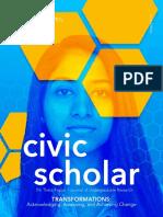 2020 Civic Scholar