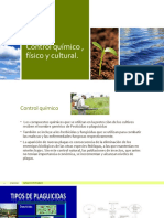 Control químico , físico y cultural agricultura