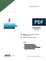 CEF Técnicas de Expresión Oral y Escrita Clase 2