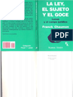 La ley, el sujeto y el goce [Franck Chaumon].pdf