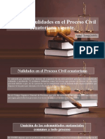 Clases de Nulidades en el Proceso Civil ecuatoriano