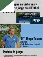 Presentación Diego Testas