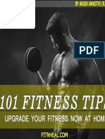 101 Fitness Tips at Home