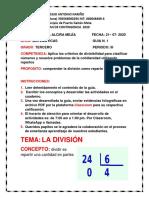 1. PLAN DE CONTINGENCIA MATEMATICAS 3 PERIODO