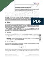 P9 Sampling, Convolution, and FIR Filtering