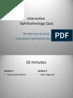 ophthalmology quiz.ppt