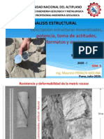 SEM_06 Estructuras mineralizadas, Potencia,Toma de actitudes