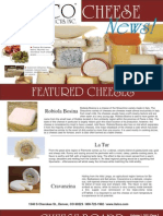 Itaclo Food Products Cheese News January 2011