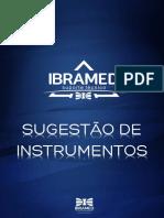 SUGESTAO DE INSTRUMENTOS