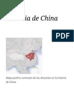 Historia de China - Wikipedia, la enciclopedia libre.pdf