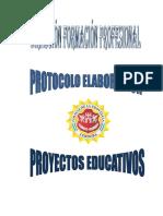 PROTOCOLO DE PROYECTO EDUCATIVO