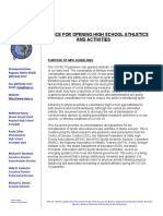 MPA Guidance for Opening High School Athletics and Activities - 7.30.20
