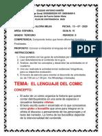 15  PLAN DE CONTINGENCIA ESPAÑOL 2 PERIODO