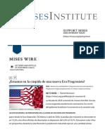 ¿Estamos en la cúspide de una nueva Era Progresista? | Mises Wire