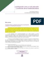 LA PARTICIPACIO_N COMO UN ACTO EDUCADOR Y CONSTRUCTOR DE LA CIUDAD EDUCADORA. JAHIR RODRI_GUEZ RODRI_GUEZ.