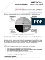 Cybersecurity Posture Assessment Brochure_Hitachi Systems Security