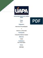 390744429-Tarea-1-Intervencion-Psicopedagogica-y-Atension-a-La-Diversidad