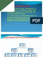 ANALYSIS OF DATA.presentation