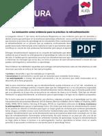 La evaluación como evidencia para la práctica- la retroalimentaciónL UTPL