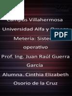 SEM 6 INVS 4- SUBNETTING, LINUX-CINTHIA ELIZABETH OSORIO DE LA CRUZ.PPT