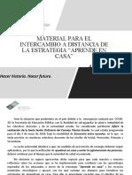 INTERCAMBIO DE ESTRATEGIAS A DISTANCIA (1)