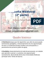 (Aula 2) Filosofia Medieval