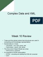 11 Complex Data and XML