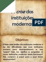(Filosofia) (Aula) sobre as instituições modernas