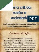 (Sociologia) (Aula) Teoria crítica razão e sociedade.pdf