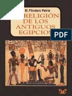 Religión de los antiguos egipcios