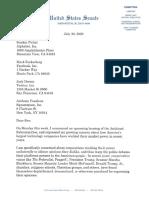 Sen Lee Asks Big Tech to Justify Content Moderation Policies