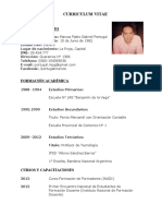 Curriculum Marcos Portugal 2019