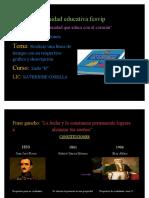Constituciones LINEA DE TIEMPO