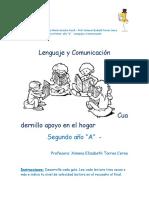 Cuadernillo apoyo _Lenguaje_primero
