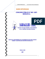 000305_CP-1-2007-SEDALIB SA-BASES INTEGRADAS