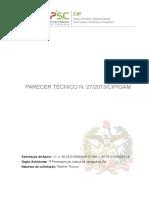 parecertcnico27-130709120309-phpapp02.pdf